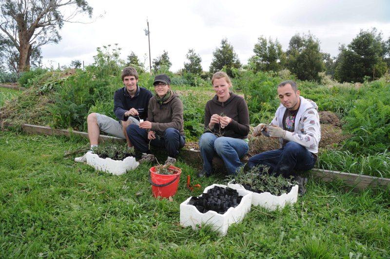 2009 September Bill (Fra), Helena (Fra), Janine (Ger) and Alessandro (Ger)