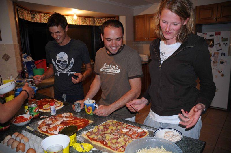 2009 September Josh (UK), Alessandro (German) and Janine (German)