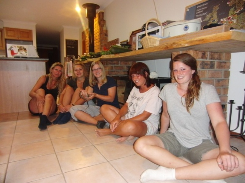 2011 January Daniela (Ger), Jarmila (Ger), Chrissi (Ger), Anna (Ger) and Linda (Ger)