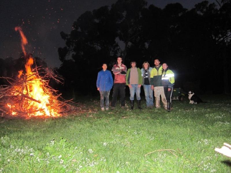 2011 June Bonfirenight