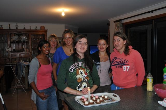 2012 April birthday girl Jess (Italy) celebrating her birthday with